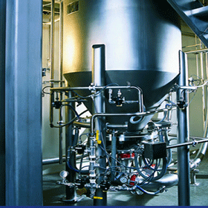 Pneumatic Blending Systems & Mixer