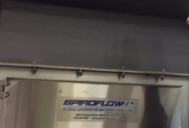 Spiroflow's Bulk Bag Discharger in Production