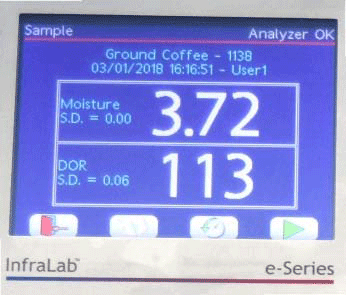 InfraLab Coffee Moisture Analyzer