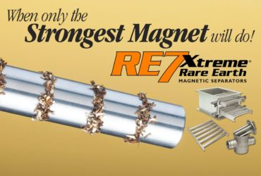 Pull Test: Eriez RE7 Tube Magnet Circuit vs. Competitors