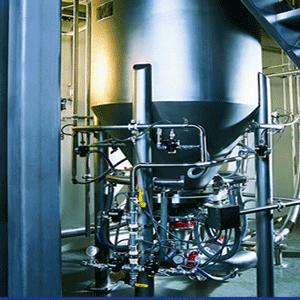 Pneumatic Blending Systems & Mixer