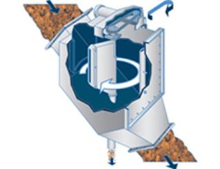 Sloped Gravity Chute Sampler