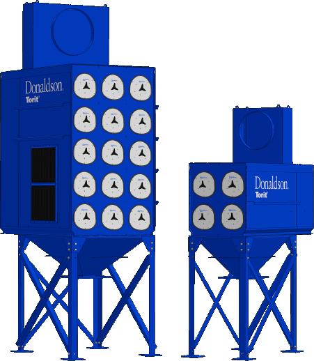 Donaldson Torit Downflo Evolution Dust Collector EVOLUTIONARY DESIGN THE ORIGINATORS OF THE CARTRIDGE COLLECTOR