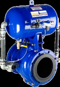 CV Technology Pinch valve explosion isolation