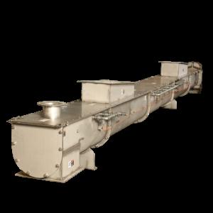 Total Enclosure Screw Conveyor Systems by Thomas Conveyor Co.