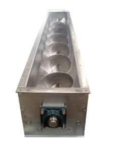 Stainless Steel screw feeder by Thomas Conveyor Compnay