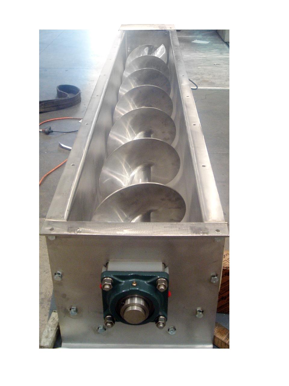 Stainless Steel screw feeder by Thomas Conveyor Compnay