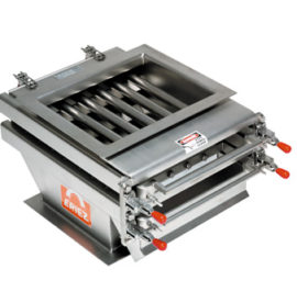 Easy to Clean Grate Magnets In-Housing