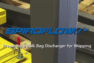 Spiroflow's Bulk Bag Discharger Prepared for Shipping