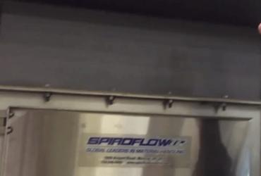 Spiroflow's Bulk Bag Discharger in Production