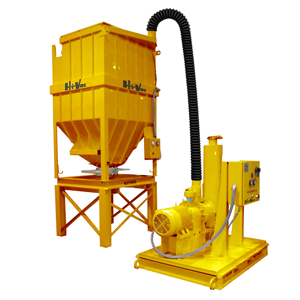 STATIONARY INDUSTRIAL VACUUM LOADER