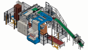 Beumer Compac Palleztizing system