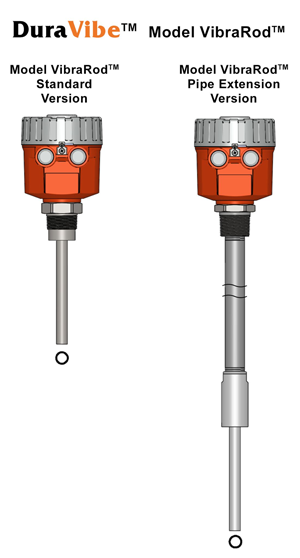 Duravibe Model VibraRod with Pipe Extension