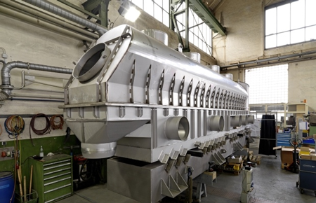 FLUIDIZED BED DRYERS/COOLERS