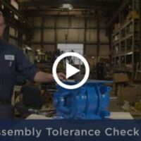 Rotor Assembly Tolerance Check
